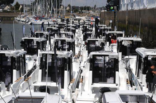 Beneteau à mis 60 barracuda à la disposition des pêcheurs pour ce concours.