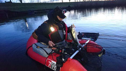 Float-tube pour la pêche