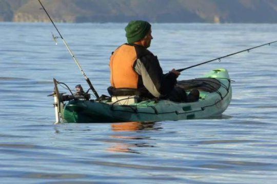 Pêcher en kayak