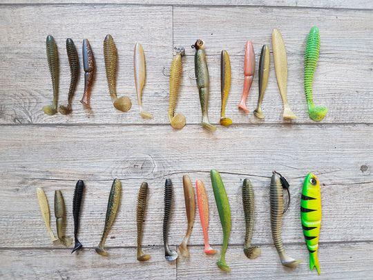 Choisir la couleur de son leurre de pêche