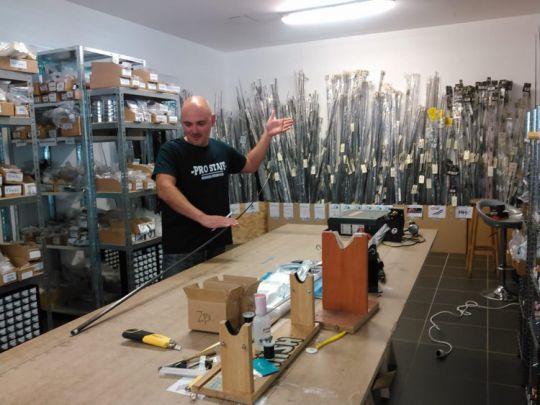 Rodbuilding, pour assembler ses cannes à pêche