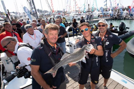 Espace pêche du Grand Pavois La Rochelle