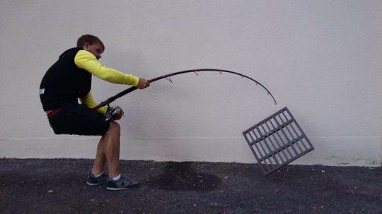 Géométrie d'un blank de canne à pêche