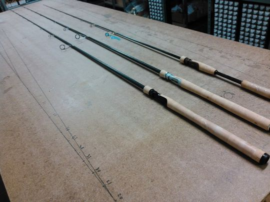 Construction d'une canne en rodbuilding