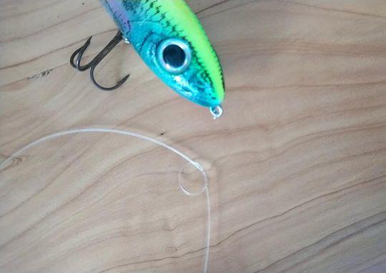 Nœud de pêche Rapala