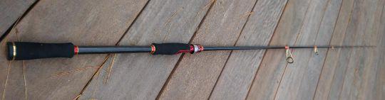 Rodbuilding alignement des anneaux de canne à pêche