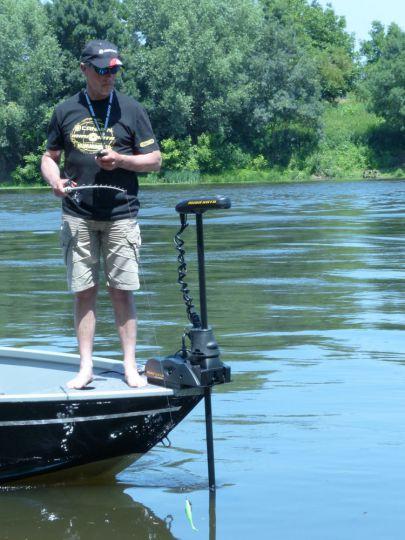 Moteur électrique de pêche