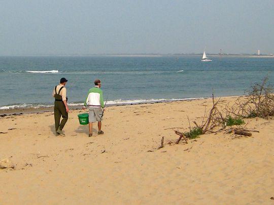 Pêche sur les plages