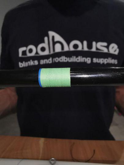 Réalisez un trim band en rodbuilding