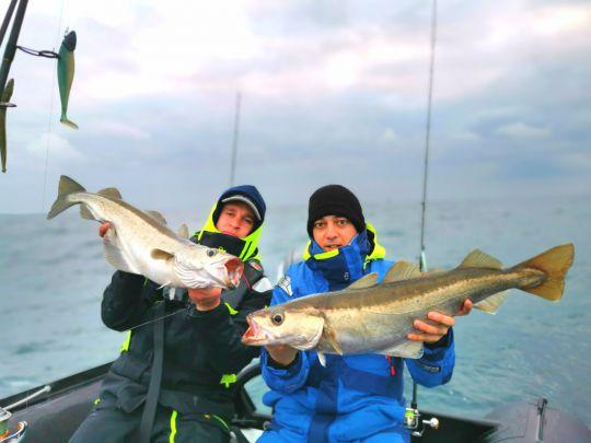 Pêche aux lieux jaunes en hiver