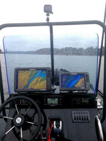 Prospection en pêche en mer