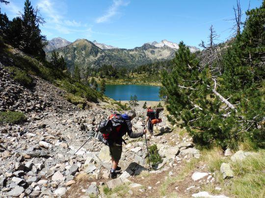 Randonnée et pêche en montagne