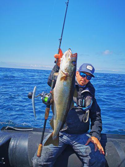 La NFC SJ 606 de chez Rodhouse est mon arme favorite pour la pêche en verticale.