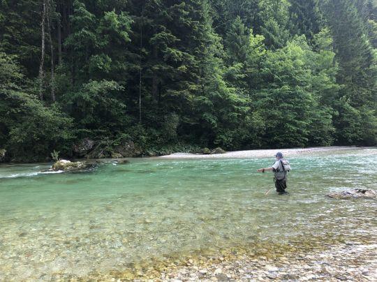 Soyez conscient de votre niveau technique avant de planifier un voyage de pêche.