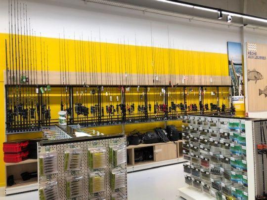 Rayon Carnassiers du magasin de Toulouse.