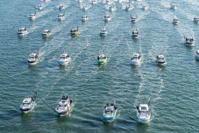 C'est une véritable armada qui a pris le départ de cette compétition.