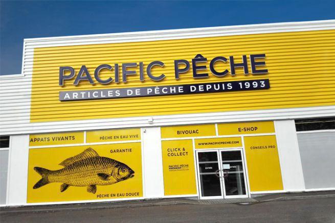 Façade du Pacific Pêche de Nantes