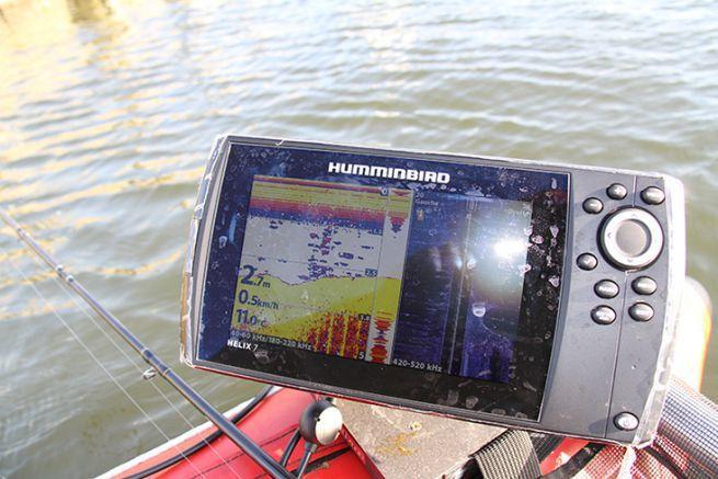 Sondeur Huminbird Helix 7 avec la technologie CHIRP et le side imaging