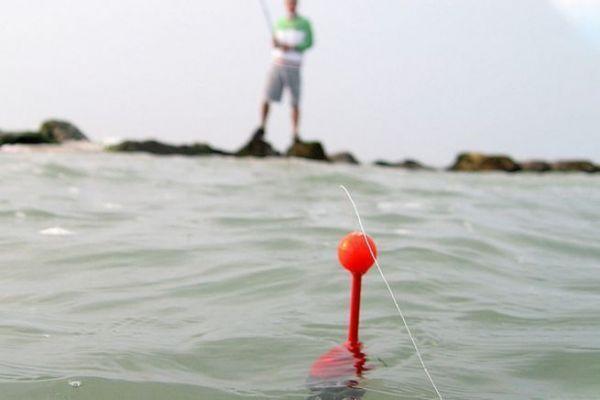 Pêche au flotteur depuis les roches