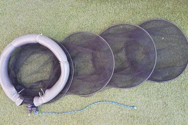 Le bricolage est terminé, la bourriche flottante est prête pour la pêche
