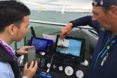 Christophe Botherel, guide de pêche avec Furuno