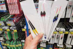 Comment choisir son flotteur dans le rayon d'un magasin de pêche ?