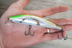 Poisson nageur K-ten Blue Ocean S BKS, distribué par Ultimate Fishing