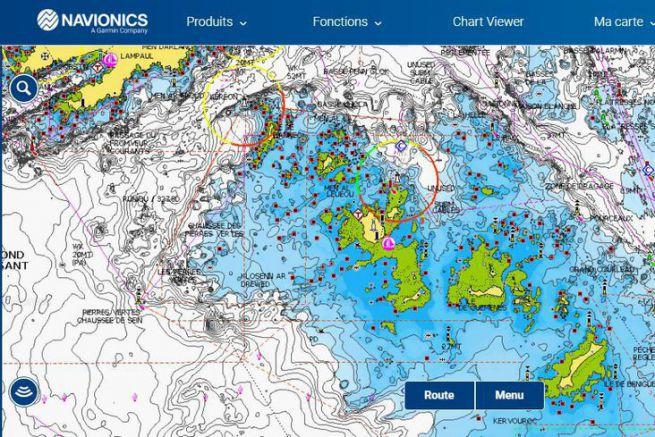 Trouver Des Spots De Peche Au Bar En S Aidant De La Cartographie Navionics