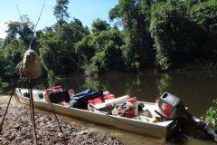 La pêche de l'aïmara en guyane