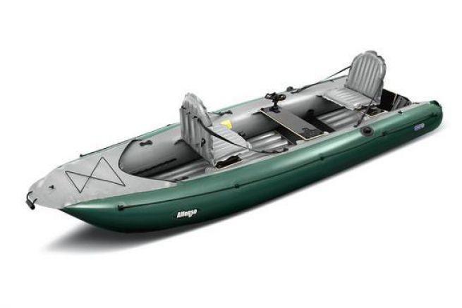 Alfonso, le kayak gonflable de Gumotex
