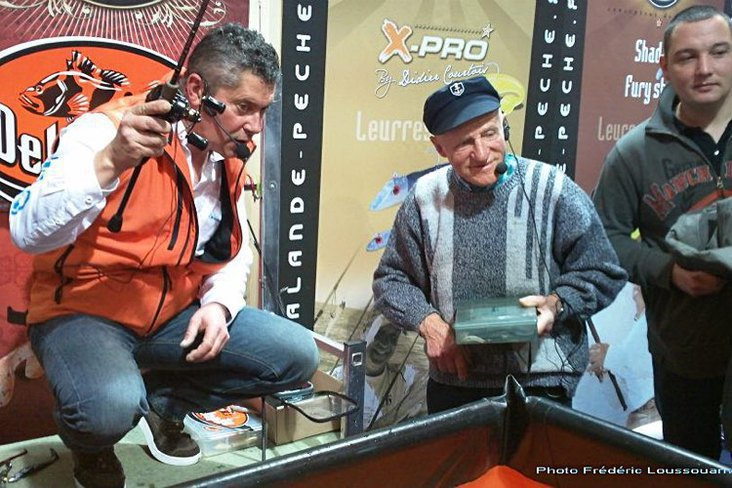 Hommage à Ange Porteux qui nous a quitté à l'âge de 105 ans, très présent sur le salon de Nantes